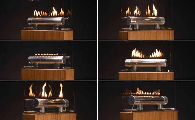 Alt ettersom hvilken sang du velger så vil flamme-spillet være forskjellig.