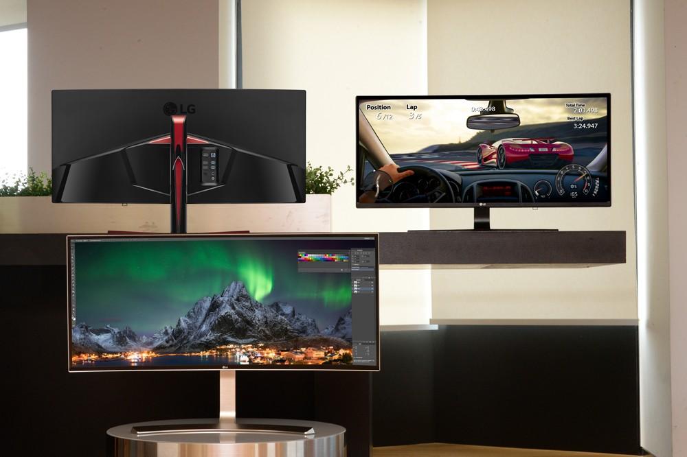 LG annonserer en trio med ultrabrede PC-skjermer.