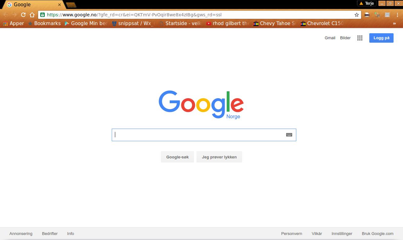 Chrome også.