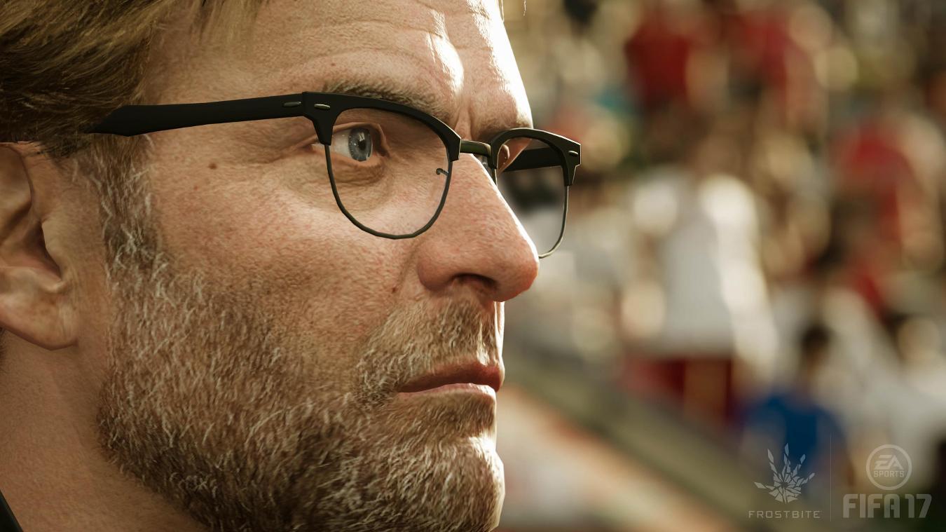 Jurgen Klopp og de 19 andre Premier League-managerne er med i spillet.