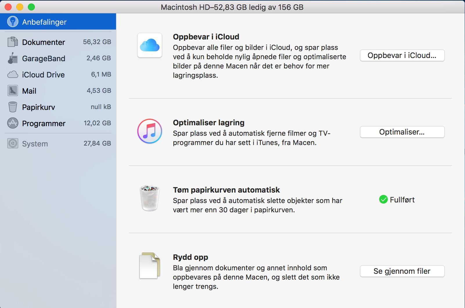 macOS Sierra har fire innebygde funksjoner som gjør jobben lett for brukeren.
