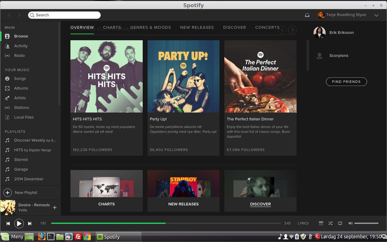 Spotify er lett å kjenne igjen.