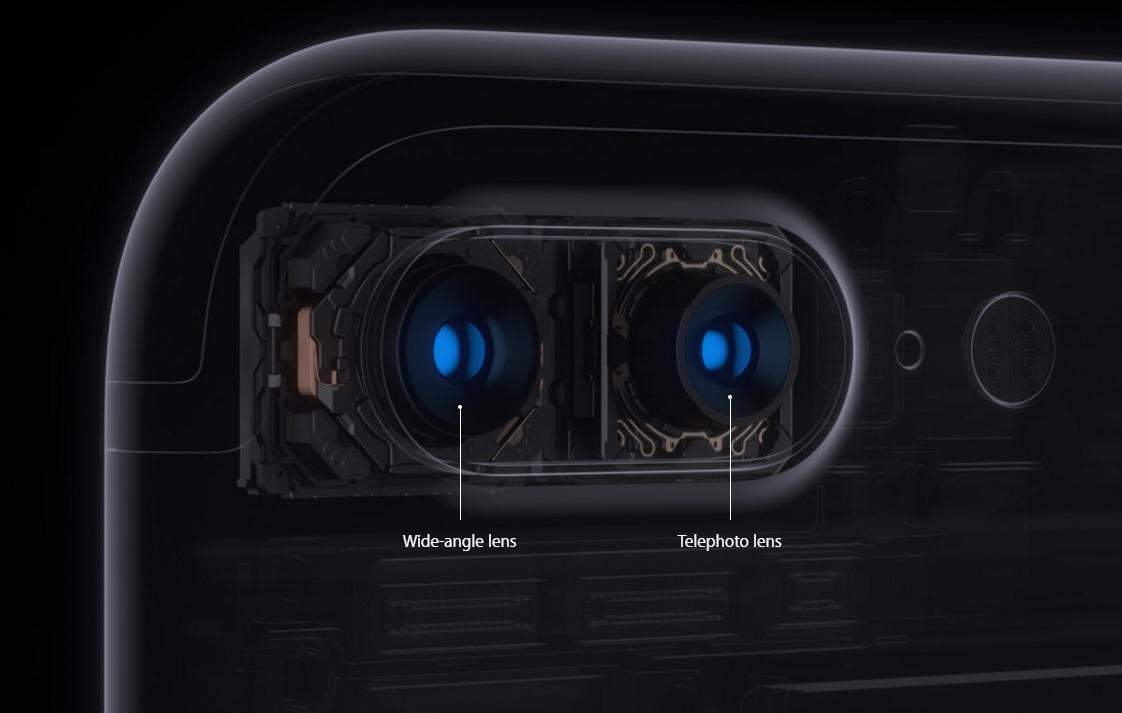 De to kameraene samarbeider for optisk zoom.