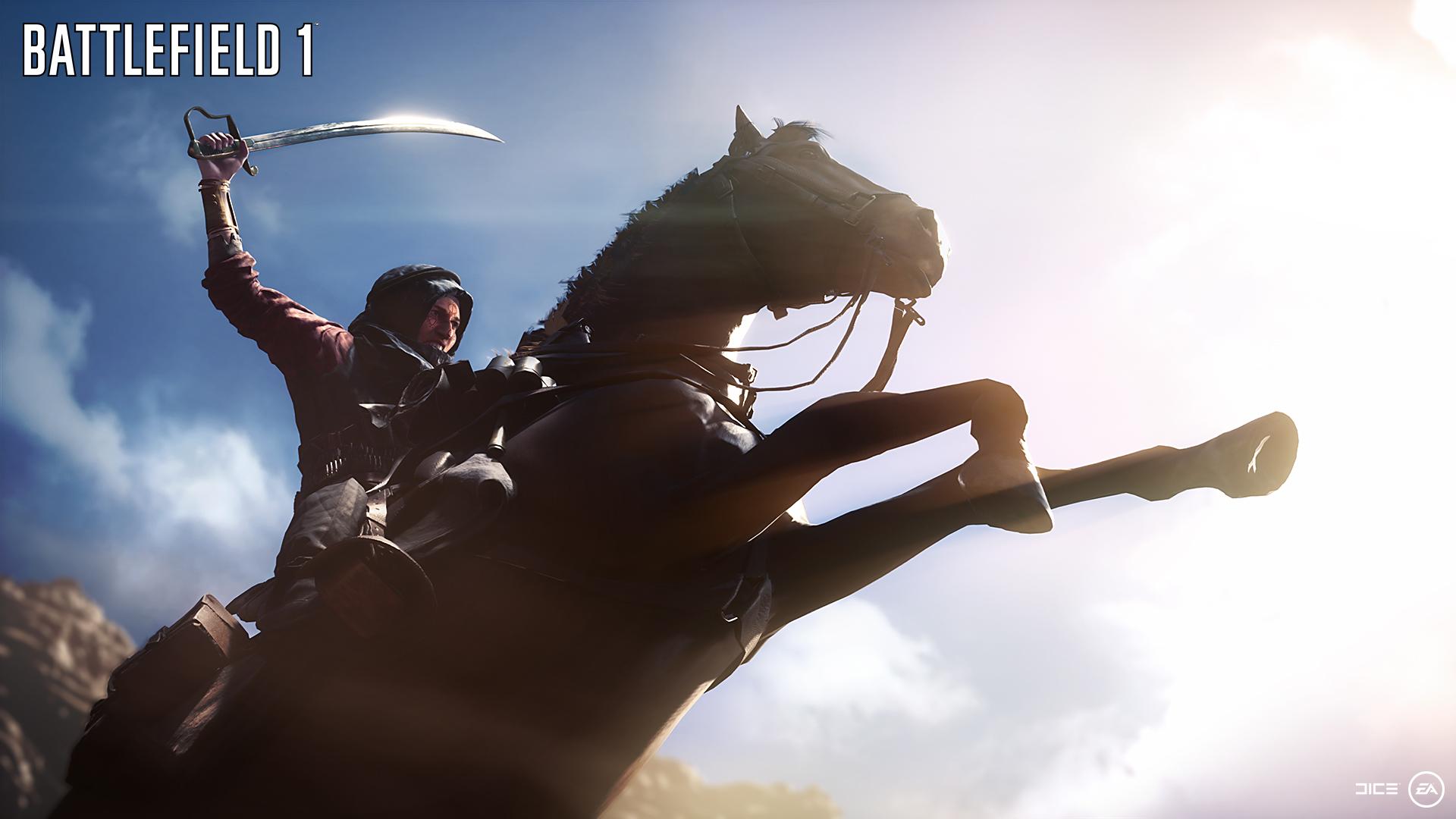 Man føler seg ofte litt alene i Battlefield 1. Selv på hesteryggen.
