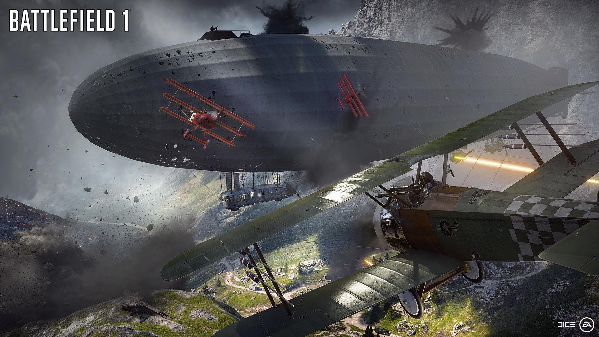 Selvsagt er det luftkjemping i et Battlefield-spill.