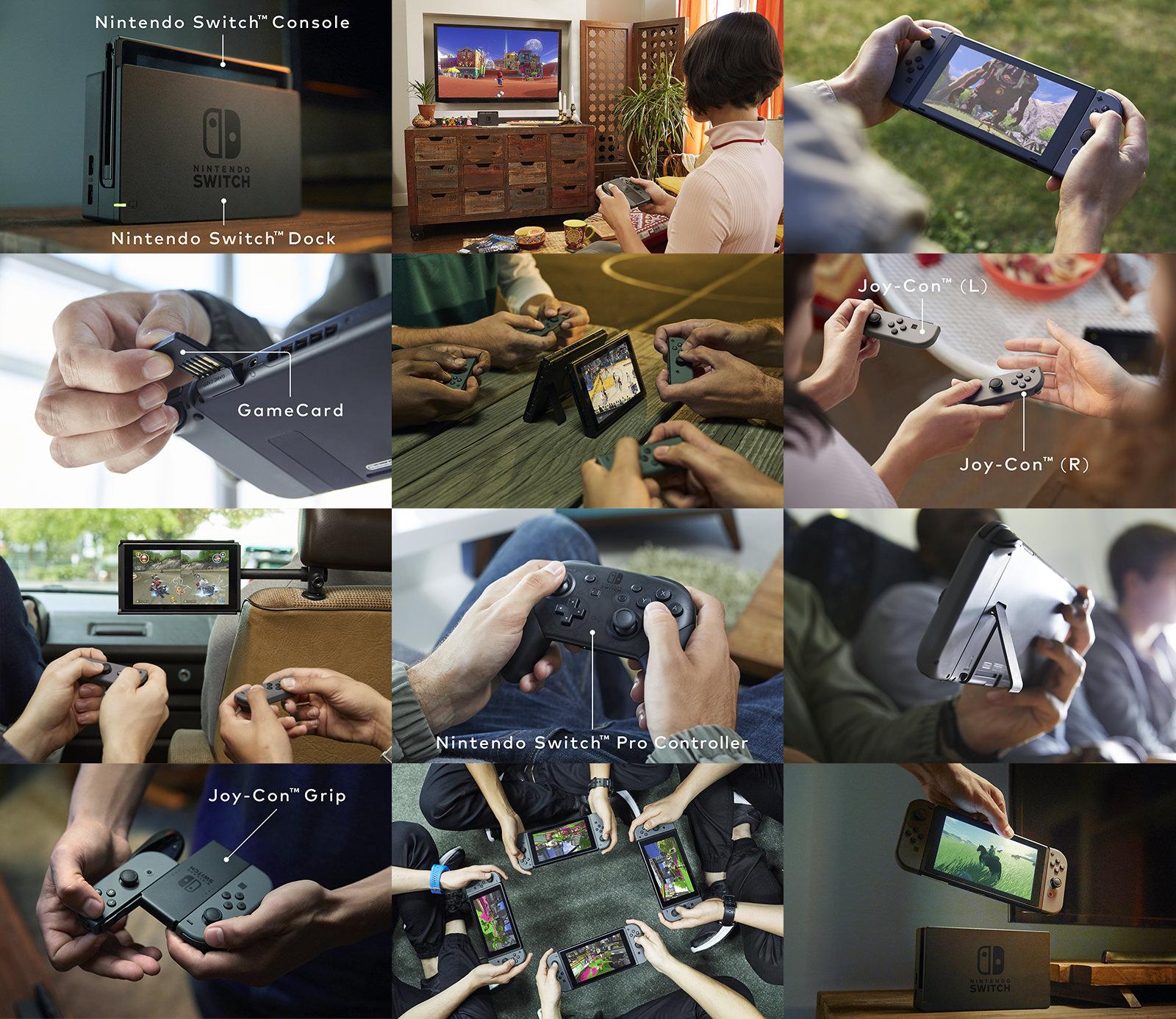 Nintendo Switch er offisiell.
