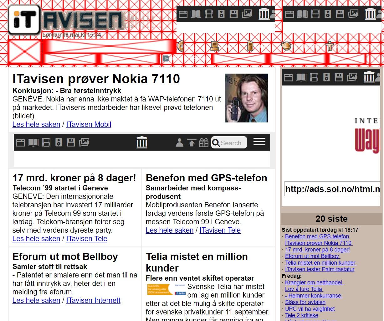 Slik så ITavisen ut i 2004.