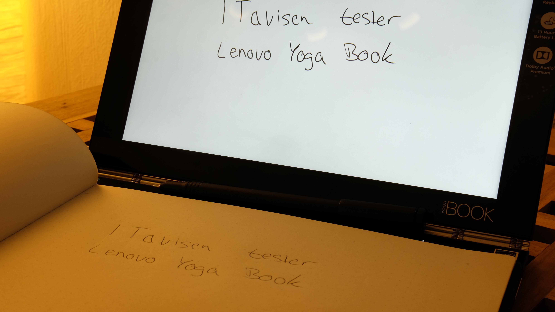 Pennen er god å skrive med og selvsagt meget presis.