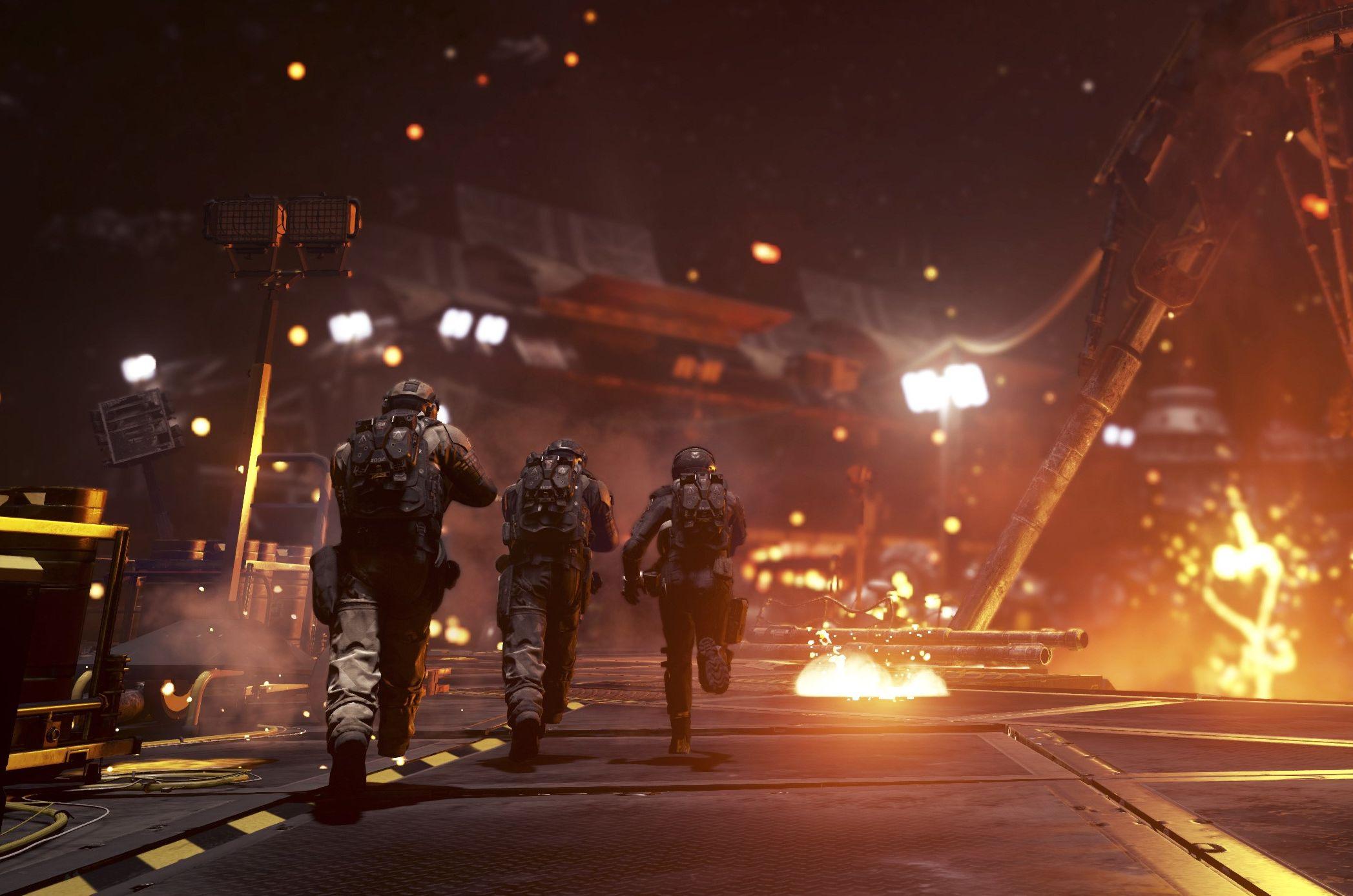 Infinite Warfares historiedel er like eksplosiv som forgjengerne.