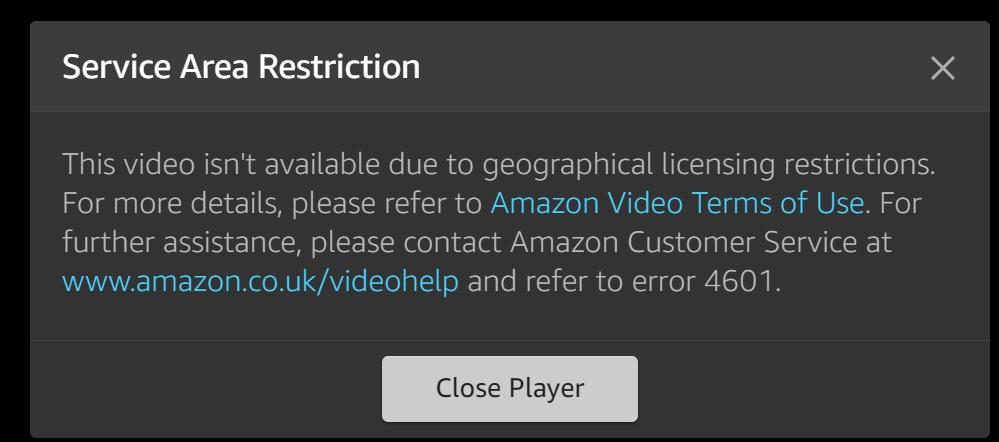 Amazon Video er ikke helt lansert i Norge enda, for du må registrere deg hos tjenesten med utenlandsk adresse for å få tilgang til det begrensede innholdet.