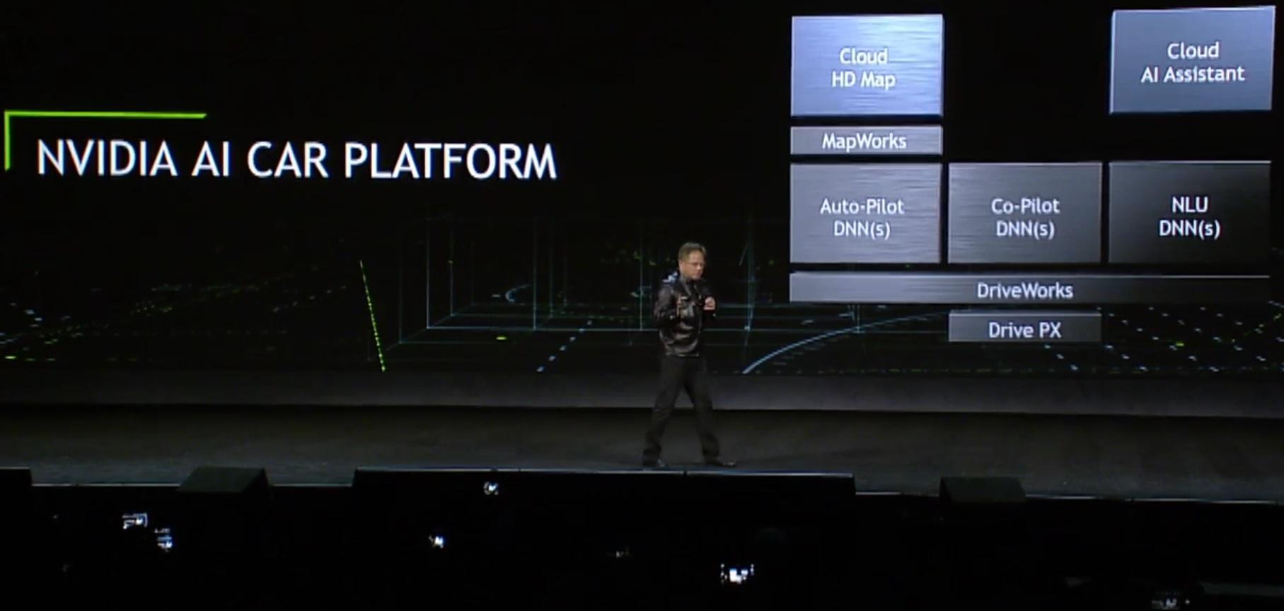 Nvidia har laget AI for biler.