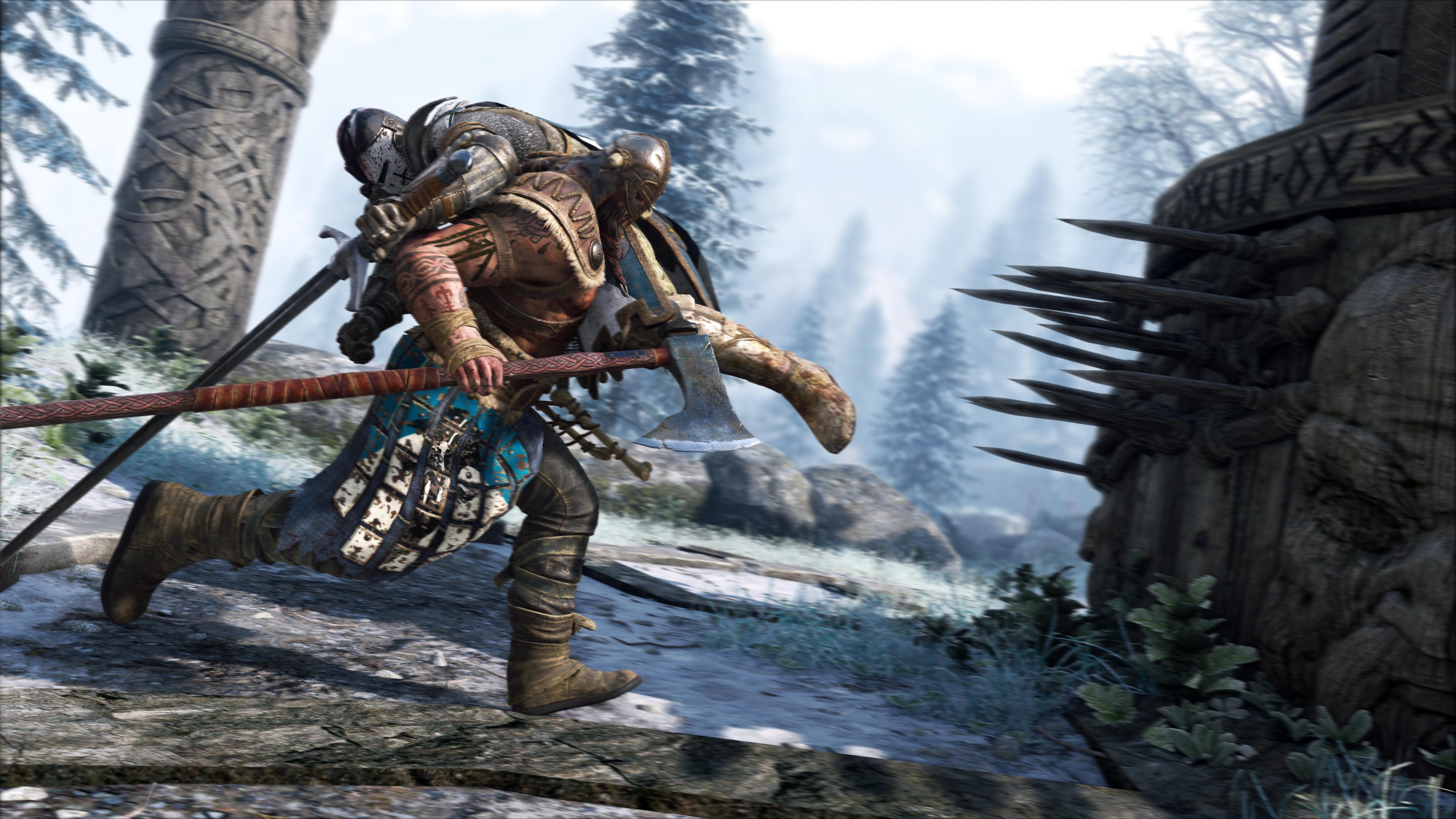 Denne vikingen har has på ridderen.