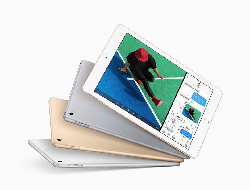 """Apple lanserte i dag en oppgradert iPad 9,7"""" med A9-brikke."""