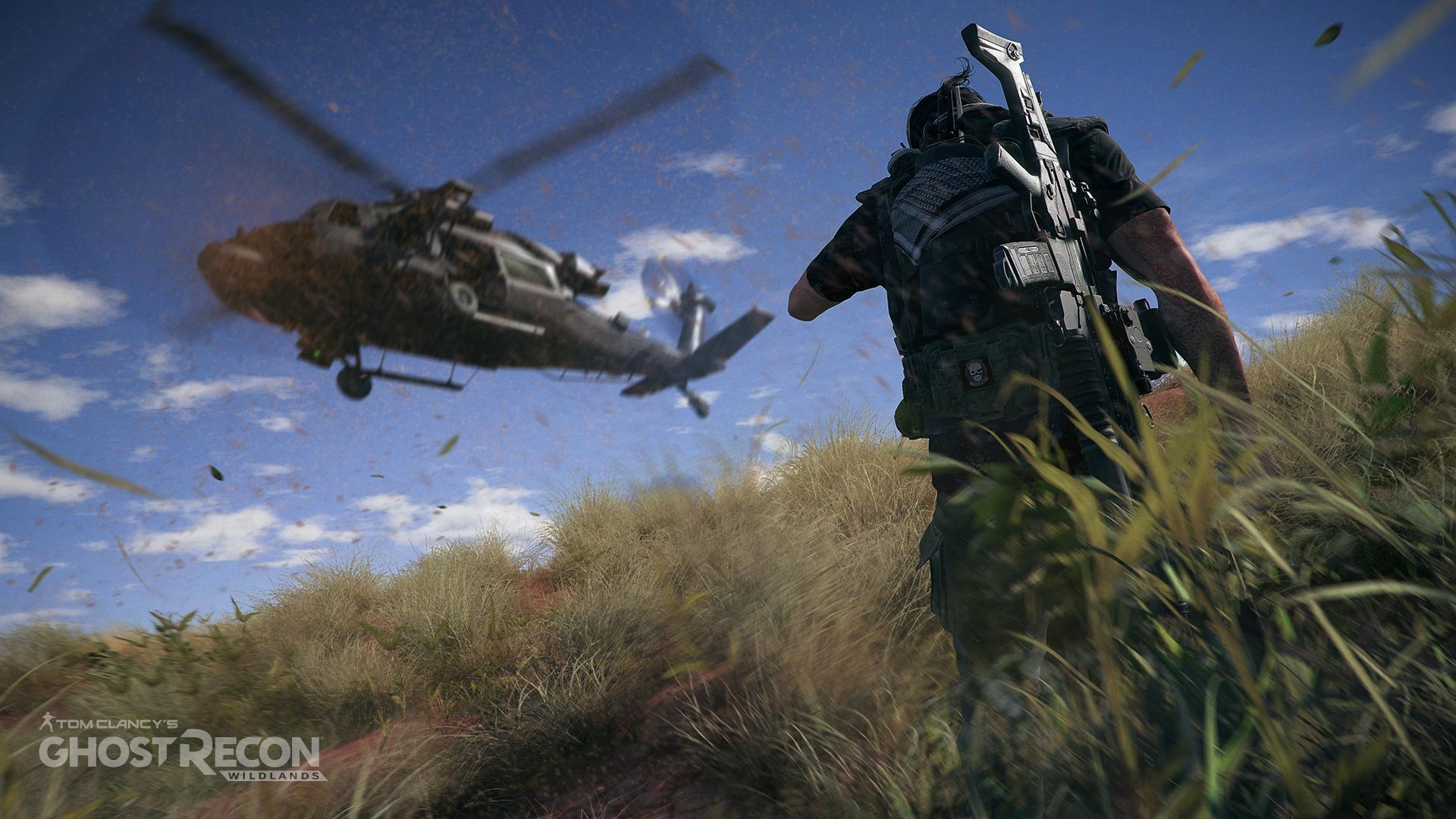 Helikopteret er kanskje det mest effektive fremkomstmiddelet i spillet.