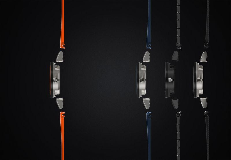 Man kan tilpasse Tag Heuer-klokken med ulike reimer.