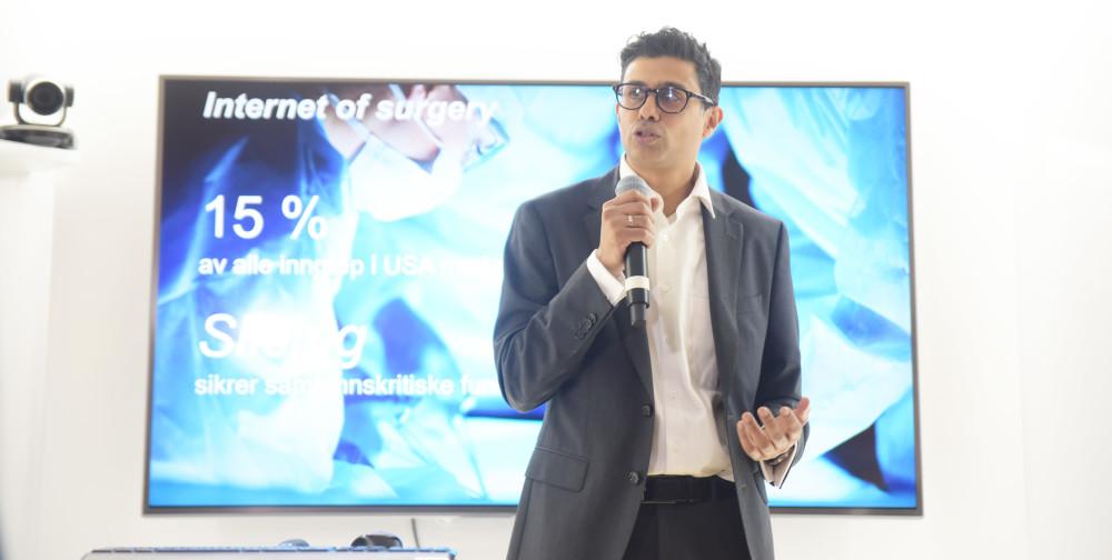 Naeem Zahid er kirurg og e-helseekspert i Telenor.