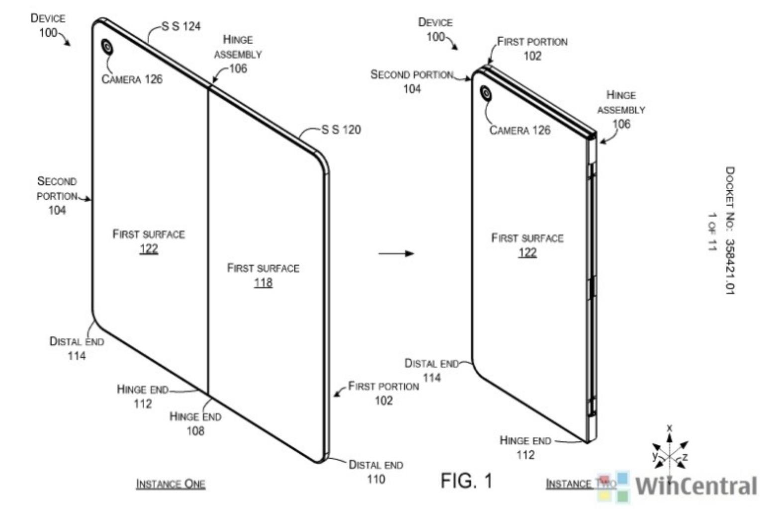 Dette er Microsofts produkt-patent fra i fjor.