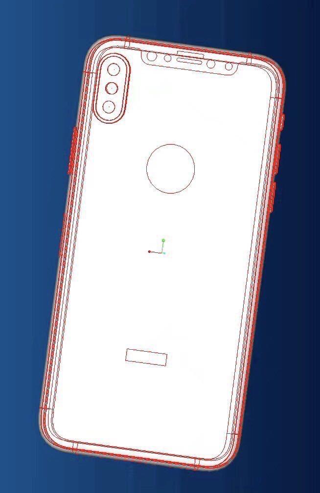 Apple-kjenner Geskin mener at sirkelen viser plassen til logoen, ikke fingersensoren.