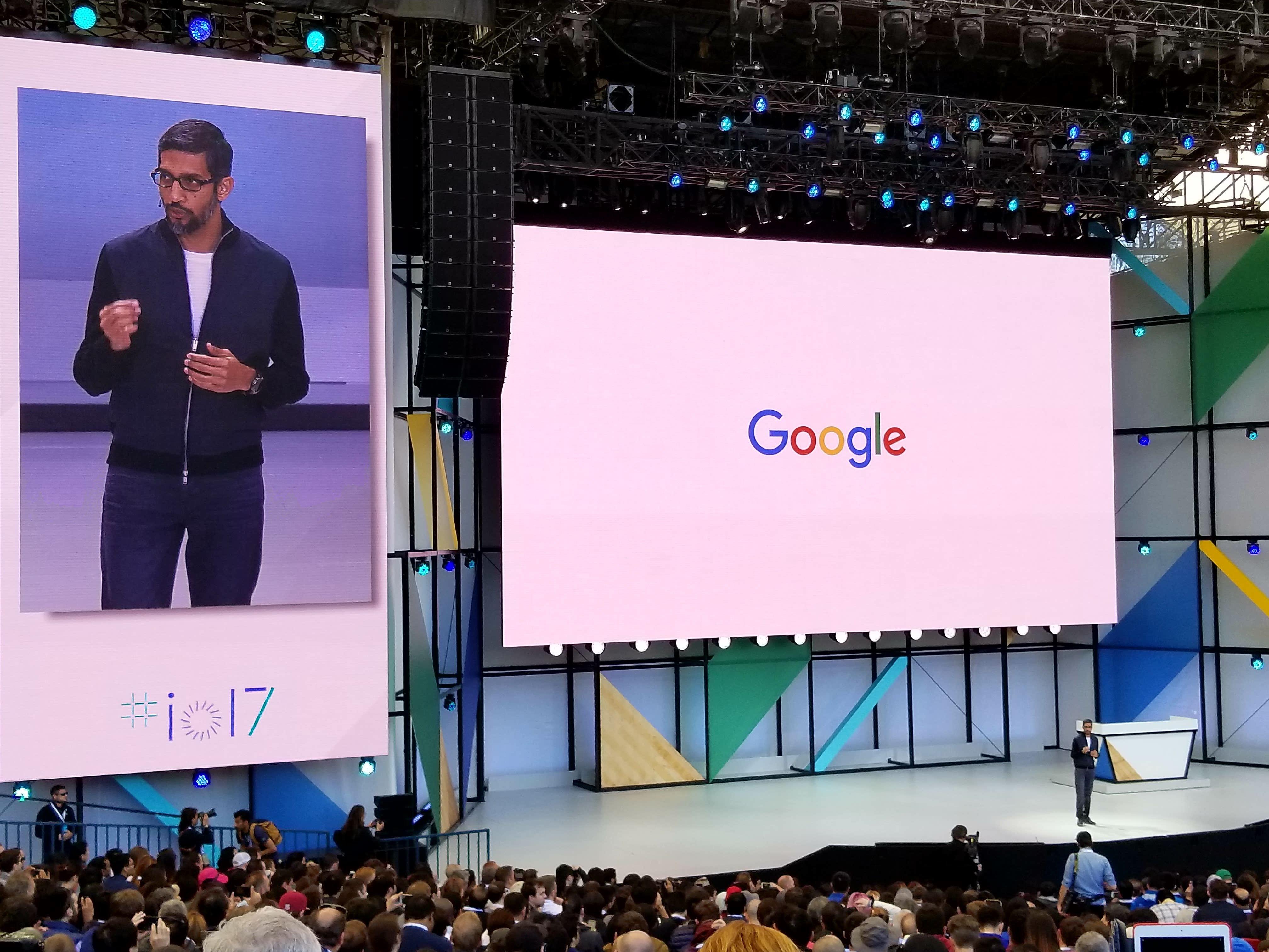 Hele dagen og morgendagen kommer det avsløringer og demonstrasjoner fra Googles gigamesse I/O utenfor San Francisco.