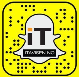 Følg ITavisen på Snapchat.