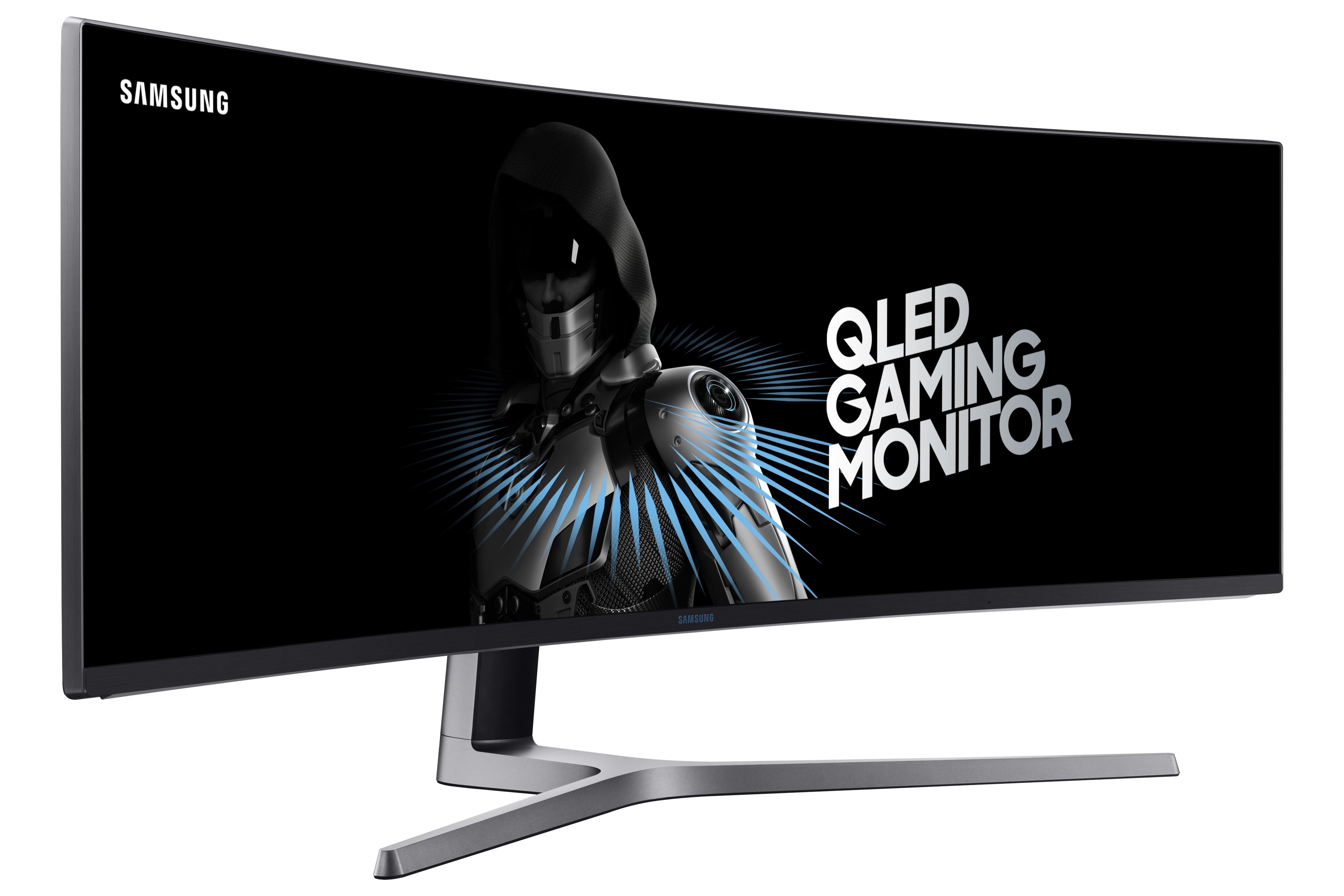 Samsung satser på store spillskjermer med ny teknologi. Ekstra gode er skjermene for de med AMD-skjermkort.