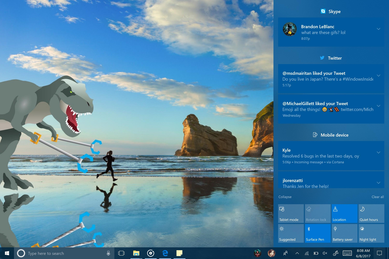 Slik ser den nyeste Windows 10-testversjonen ut.