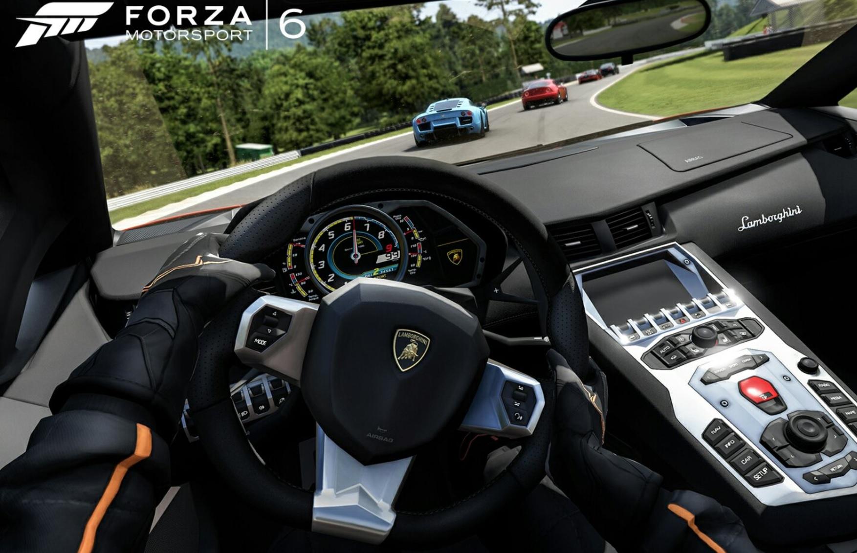 Dette er Forza 6 fra 2015.