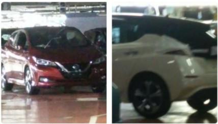 Dette skal være nye Nissan Leaf.