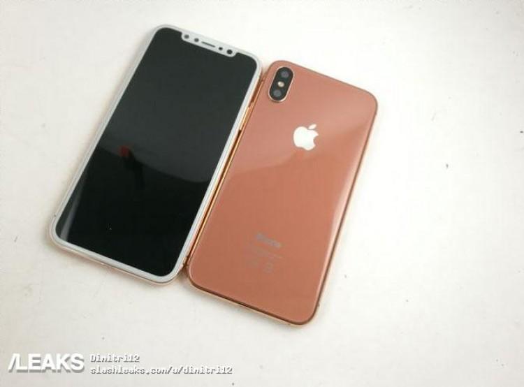 Kobber-iPhone 8? Ikke umulig at denne kommer.