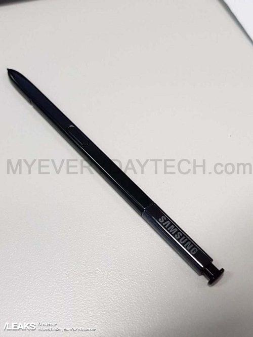 Note 8-pennen.