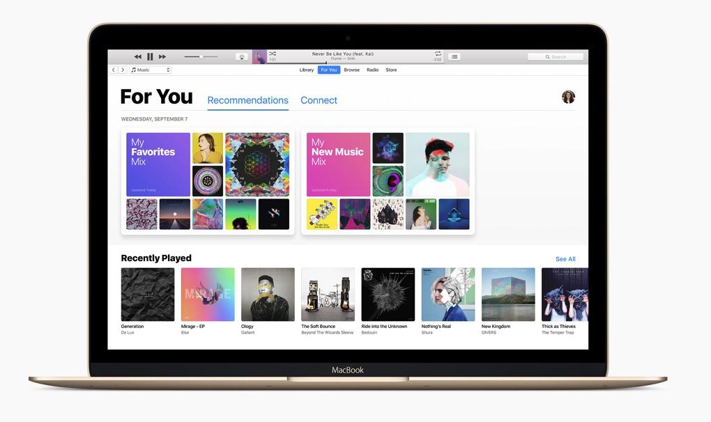 iTunes 12.7 er lansert med musikk-fokus - dessuten er App Store luket bort.