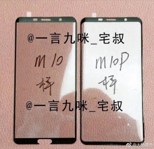 Huawei Mate 10 og 10 Pro side om side.