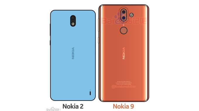 3D-skisser basert på Nokia-ryktene.