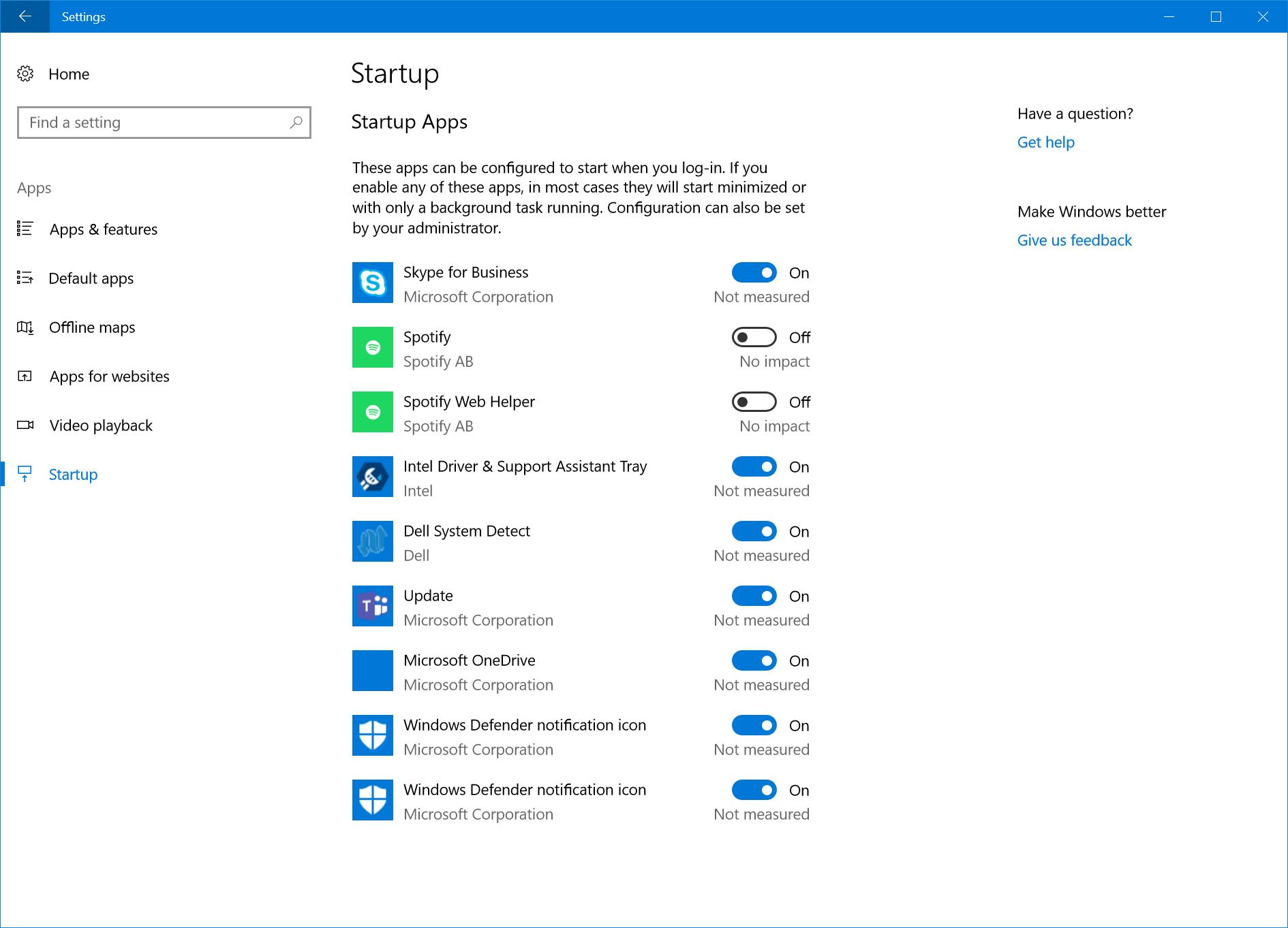 Microsoft gjør det enda enklere å deaktivere oppstartsprogrammer.