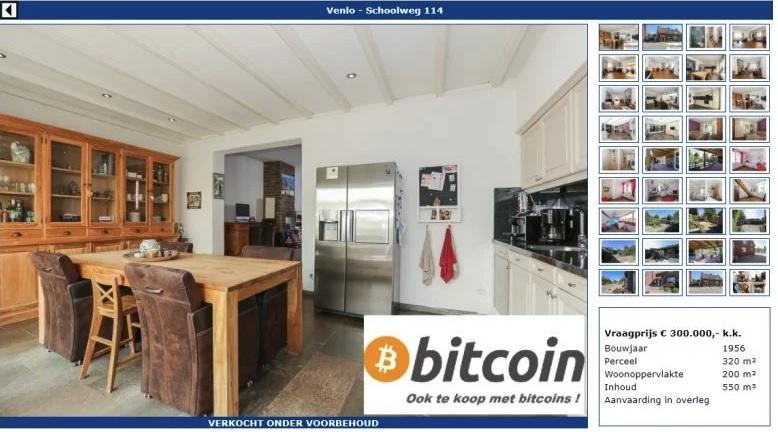 Taihuttu solgte huset sitt for 85 bitcoins.
