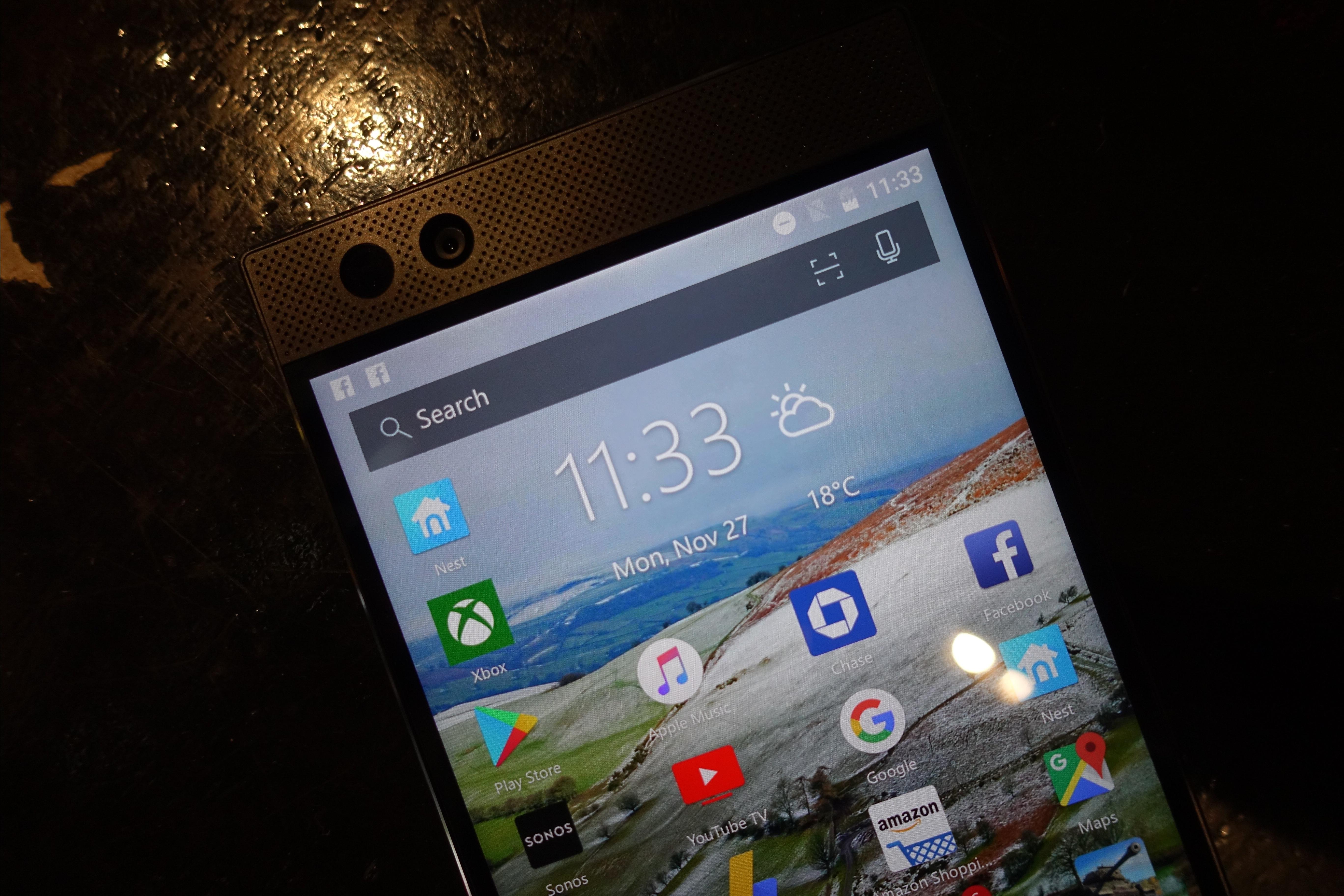 """""""Nova Launcher"""" gir ikke mobilen et særpreg, for å si det sånn, men alt fungerer tilfredsstillende."""