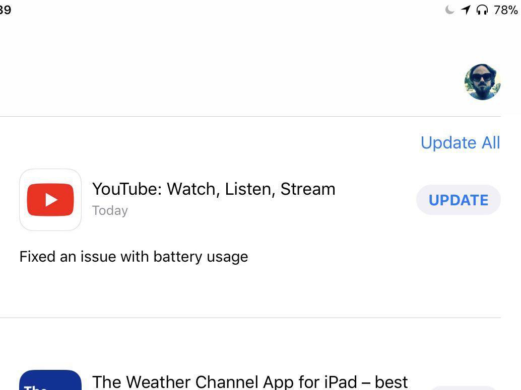 YouTube er oppdatert.