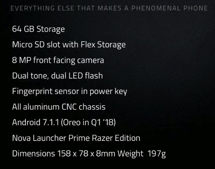 Razer Phone har en spesialutgave av Nova Launcher.