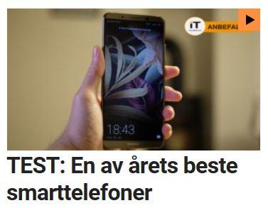 Mate 10 Pro er en av årets beste smarttelefoner.