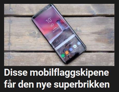 Disse mobilene får Snapdragon 845.