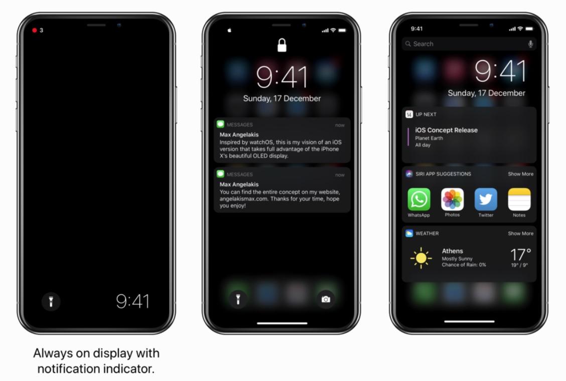 Mer eller mindre samtlige Androd-mobiler med OLED-panel har alltid-på-panel, men ikke Apples iPhone X.