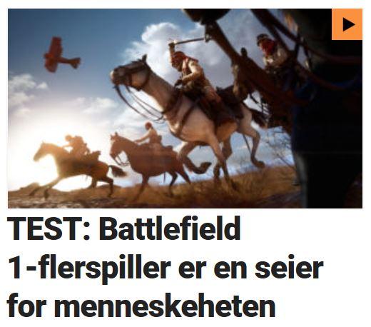 Vi testet Battlefield 1.