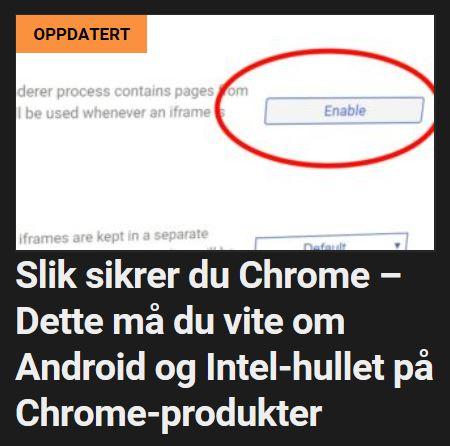Slik sikrer du deg på Google-plattformen.