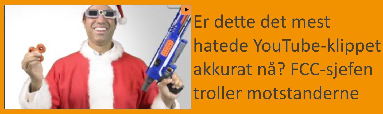 Er dette det mest hatede YouTube-klippet akkurat nå?