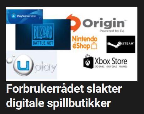 Flere digitale spillbutikker får slakt.