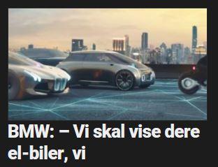 BMW satser stort på elbil.