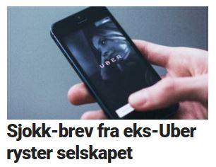 Flere Uber-avsløringer.
