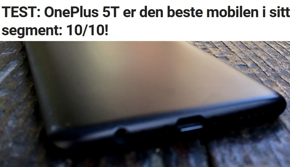 Nå kan du bruke OnePlus 5 og 5T som iPhone X