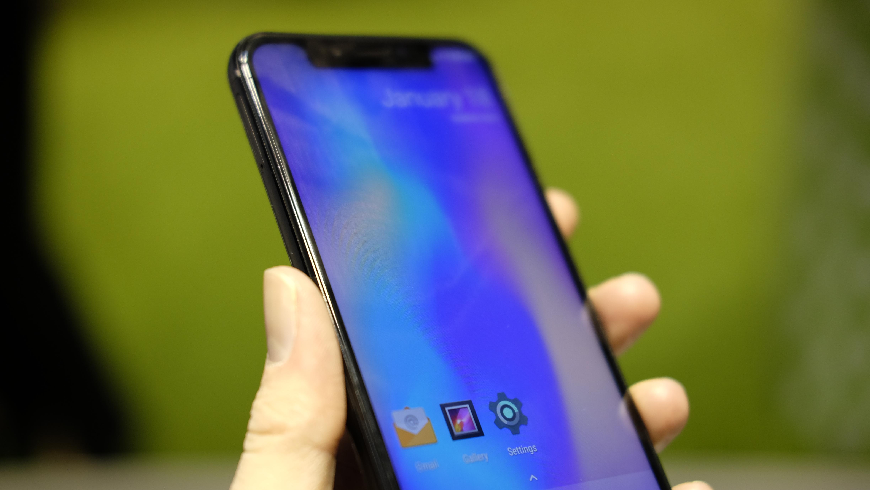 Leagoo S9 har ikke infrarød sensor for ansiktsgjenkjenning.