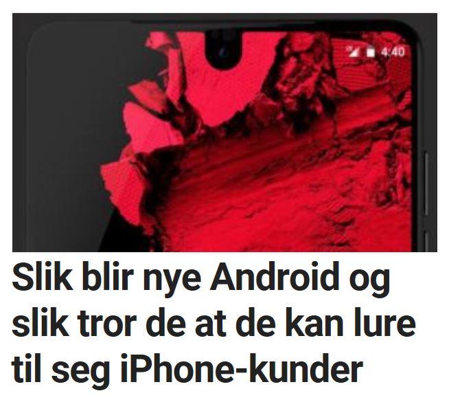 Slik blir Android P.